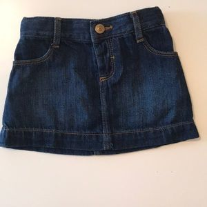 12-18 months jean skirt from old navy